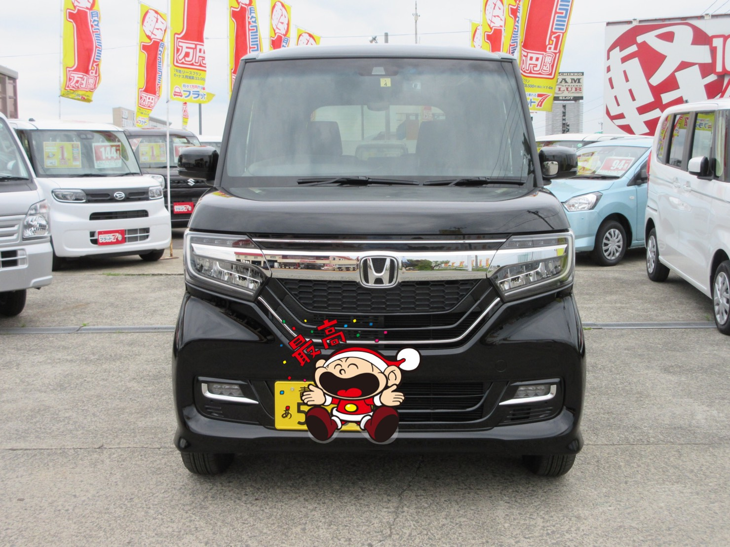 未使用車 NBOXカスタム 平川市のお客様のイメージ画像|黒石カーリース専門店フラット7黒石