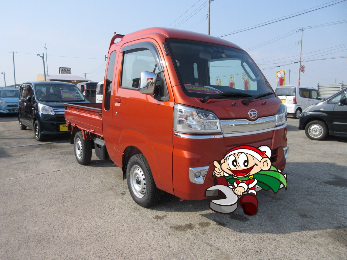 平川市のお客様 新車で納車 ハイゼットジャンボ のイメージ画像|黒石カーリース専門店フラット7黒石